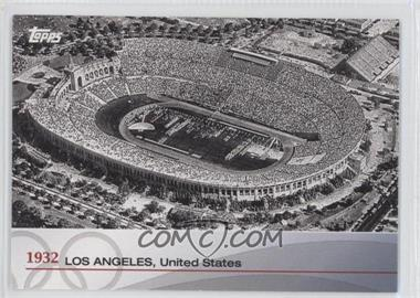 2012 Topps U.S. Olympic Team and Olympic Hopefuls Heritage of the Games #OH-X - 1932 - Los Angeles, United States