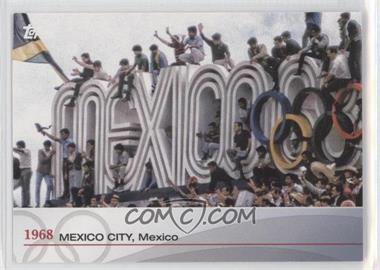 2012 Topps U.S. Olympic Team and Olympic Hopefuls Heritage of the Games #OH-XIX - 1968 Mexico City, Mexico