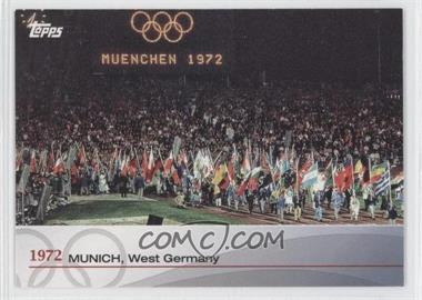 2012 Topps U.S. Olympic Team and Olympic Hopefuls Heritage of the Games #OH-XX - 1972 - Munich, West Germany