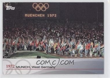 2012 Topps U.S. Olympic Team and Olympic Hopefuls Heritage of the Games #OH-XX - 1972 Munich, West Germany