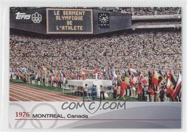 2012 Topps U.S. Olympic Team and Olympic Hopefuls Heritage of the Games #OH-XXI - 1976 - Montreal, Canada
