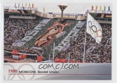 2012 Topps U.S. Olympic Team and Olympic Hopefuls Heritage of the Games #OH-XXII - 1980 - Moscow, Soviet Union