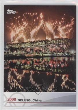 2012 Topps U.S. Olympic Team and Olympic Hopefuls Heritage of the Games #OH-XXIX - 2008 Beijing, China