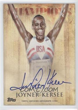2012 Topps U.S. Olympic Team and Olympic Hopefuls Olympic Champions Autographs #OCA-JJK - Jackie Joyner-Kersee