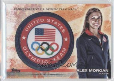 2012 Topps U.S. Olympic Team and Olympic Hopefuls Olympic Team Manufactured Patch #ULP-AMO - Alex Morgan