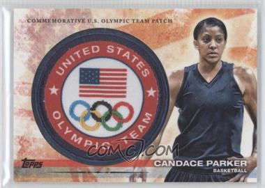 2012 Topps U.S. Olympic Team and Olympic Hopefuls Olympic Team Manufactured Patch #ULP-CP - Candace Parker