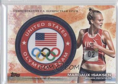 2012 Topps U.S. Olympic Team and Olympic Hopefuls Olympic Team Manufactured Patch #ULP-MI - Margaux Isaksen