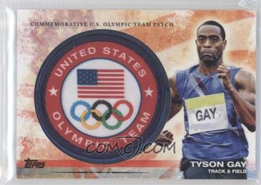 2012 Topps U.S. Olympic Team and Olympic Hopefuls Olympic Team Manufactured Patch #ULP-TG - [Missing]
