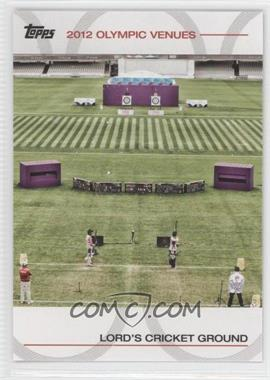 2012 Topps U.S. Olympic Team and Olympic Hopefuls Olympic Venues #SOV-15 - [Missing]