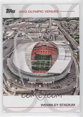 2012 Topps U.S. Olympic Team and Olympic Hopefuls Olympic Venues #SOV-20 - Wembley Stadium