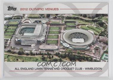 2012 Topps U.S. Olympic Team and Olympic Hopefuls Olympic Venues #SOV-21 - All England Lawn Tennis and Croquet Club- Wimbledon