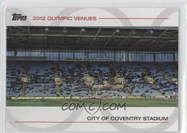 2012 Topps U.S. Olympic Team and Olympic Hopefuls Olympic Venues #SOV-22 - City of Coventry Stadium