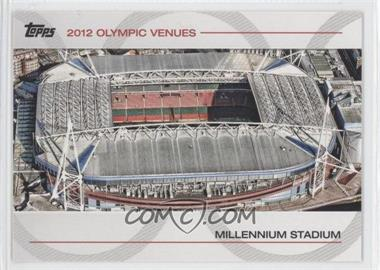 2012 Topps U.S. Olympic Team and Olympic Hopefuls Olympic Venues #SOV-27 - Millennium Stadium