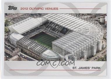 2012 Topps U.S. Olympic Team and Olympic Hopefuls Olympic Venues #SOV-29 - St. James' Park