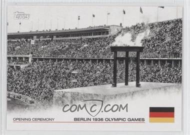 2012 Topps U.S. Olympic Team and Olympic Hopefuls Opening Ceremony #OC-10 - Berlin 1936 Olympic Games