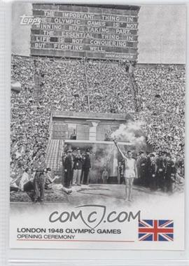 2012 Topps U.S. Olympic Team and Olympic Hopefuls Opening Ceremony #OC-11 - London 1948 Olympic Games