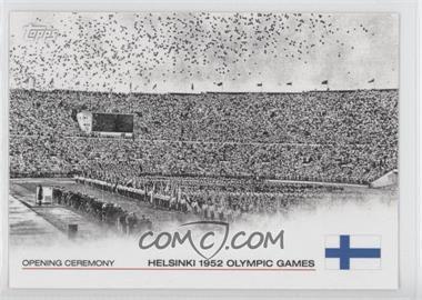 2012 Topps U.S. Olympic Team and Olympic Hopefuls Opening Ceremony #OC-12 - Helsinki 1952 Olympic Games