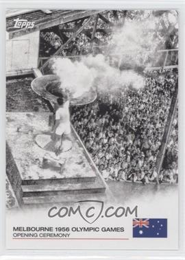 2012 Topps U.S. Olympic Team and Olympic Hopefuls Opening Ceremony #OC-13 - Melbourne 1956 Olympic Games