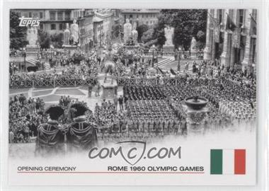 2012 Topps U.S. Olympic Team and Olympic Hopefuls Opening Ceremony #OC-14 - Rome 1960 Olympic Games