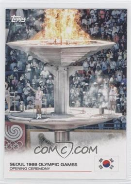2012 Topps U.S. Olympic Team and Olympic Hopefuls Opening Ceremony #OC-21 - Seoul 1988 Olympic Games