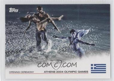 2012 Topps U.S. Olympic Team and Olympic Hopefuls Opening Ceremony #OC-25 - Athens 2004 Olympic Games