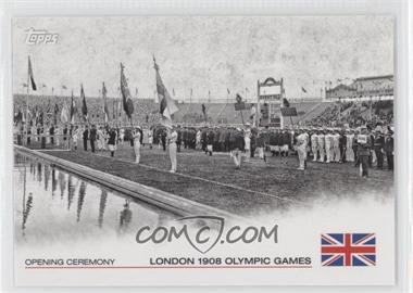 2012 Topps U.S. Olympic Team and Olympic Hopefuls Opening Ceremony #OC-4 - London 1908 Olympic Games
