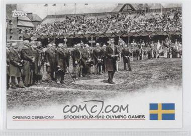 2012 Topps U.S. Olympic Team and Olympic Hopefuls Opening Ceremony #OC-5 - Stockholm 1912 Olympic Games