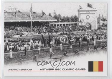 2012 Topps U.S. Olympic Team and Olympic Hopefuls Opening Ceremony #OC-6 - Antwerp 1920 Olympic Games