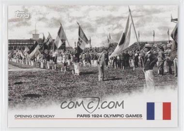 2012 Topps U.S. Olympic Team and Olympic Hopefuls Opening Ceremony #OC-7 - Paris 1924 Olympic Games