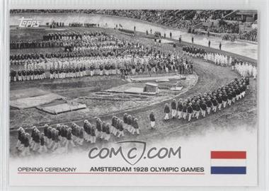 2012 Topps U.S. Olympic Team and Olympic Hopefuls Opening Ceremony #OC-8 - Amsterdam 1928 Olympic Games