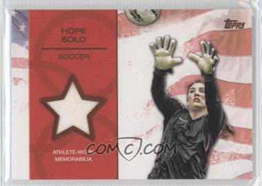 2012 Topps U.S. Olympic Team and Olympic Hopefuls Relics Bronze #OR-HS - Hope Solo /75