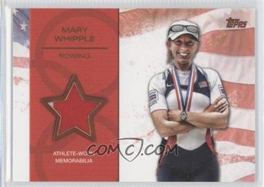 2012 Topps U.S. Olympic Team and Olympic Hopefuls Relics Bronze #OR-MW - Mary Whipple /75