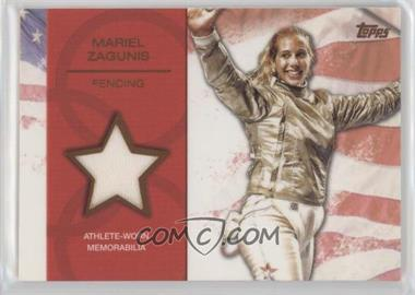 2012 Topps U.S. Olympic Team and Olympic Hopefuls Relics Bronze #OR-MZ - Mariel Zagunis /75