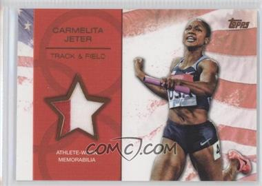 2012 Topps U.S. Olympic Team and Olympic Hopefuls Relics Bronze #OR-N/A - [Missing] /75