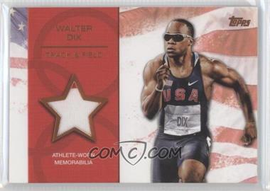 2012 Topps U.S. Olympic Team and Olympic Hopefuls Relics Bronze #OR-N/A - Walter Dix /75