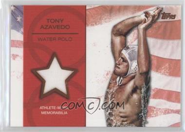 2012 Topps U.S. Olympic Team and Olympic Hopefuls Relics Bronze #OR-TA - Tony Azavedo /75
