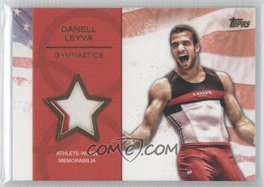 2012 Topps U.S. Olympic Team and Olympic Hopefuls Relics Gold #OR-DL - Danell Leyva /25