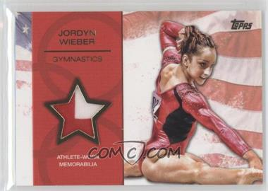 2012 Topps U.S. Olympic Team and Olympic Hopefuls Relics Gold #OR-JW - Jordyn Wieber /25