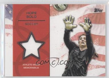 2012 Topps U.S. Olympic Team and Olympic Hopefuls Relics Silver #OR-HS - Hope Solo /50