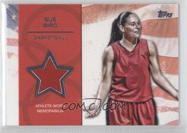 2012 Topps U.S. Olympic Team and Olympic Hopefuls Relics Silver #OR-SB - Sue Bird /50