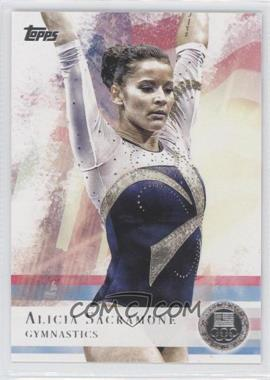 2012 Topps U.S. Olympic Team and Olympic Hopefuls Silver #11 - Alicia Sacramone