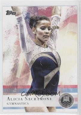 2012 Topps U.S. Olympic Team and Olympic Hopefuls Silver #11 - Alicia Sacramone