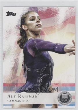 2012 Topps U.S. Olympic Team and Olympic Hopefuls Silver #15 - Aly Raisman