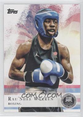 2012 Topps U.S. Olympic Team and Olympic Hopefuls Silver #2 - Rau'Shee Warren