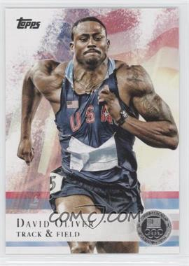2012 Topps U.S. Olympic Team and Olympic Hopefuls Silver #21 - David Oliver