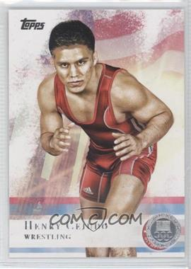 2012 Topps U.S. Olympic Team and Olympic Hopefuls Silver #33 - Henry Cejudo