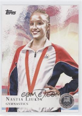 2012 Topps U.S. Olympic Team and Olympic Hopefuls Silver #43 - Nastia Liukin