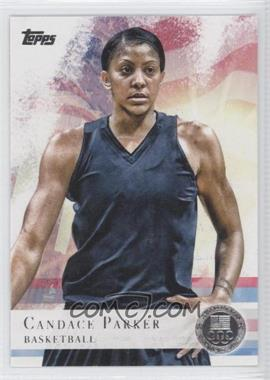 2012 Topps U.S. Olympic Team and Olympic Hopefuls Silver #46 - Candace Parker