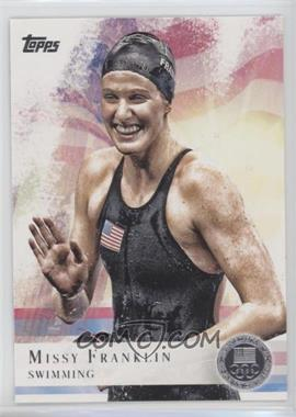 2012 Topps U.S. Olympic Team and Olympic Hopefuls Silver #59 - Missy Franklin