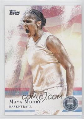2012 Topps U.S. Olympic Team and Olympic Hopefuls Silver #60 - Maya Moore